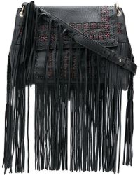 Etro - Fringe Shoulder Bag - Lyst