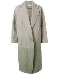 Dusan - Tie Dye Overcoat - Lyst