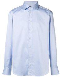 Emporio Armani - Slim Fit Shirt - Lyst