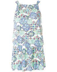 Cia.Marítima - Print Fitted Mini Dress - Lyst