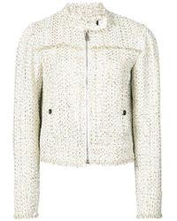 Giambattista Valli - Cropped Tweed Jacket - Lyst
