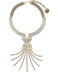 Lanvin - Spiral Spread Necklace - Lyst