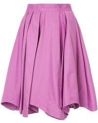 Mikio Sakabe - Draped A-line Skirt - Lyst