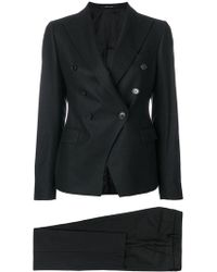 Tagliatore - Double-breasted Trouser Suit - Lyst