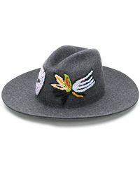 SuperDuper Hats - Embellished Hat - Lyst