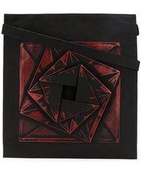 b833d23442b10 Lyst - Bao Bao Issey Miyake Geometric Panel Clutch Bag in Metallic