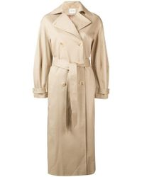Dagmar - Double-breasted Trench Coat - Lyst
