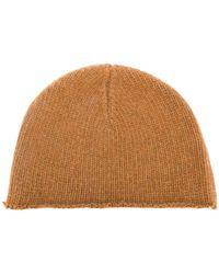 Marni - Raw Hem Knitted Cap - Lyst