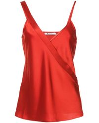 Alexander Wang - V-neck Camisole - Lyst