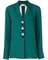 N°21 - Pyjama-style Shirt - Lyst