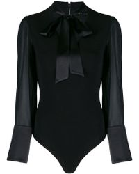 Alice + Olivia - Long Sleeved Body - Lyst