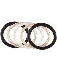 Henson - Horn Stack Set Ring - Lyst