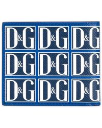 Dolce & Gabbana - Logo Bi-fold Wallet - Lyst
