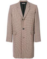 Paul & Joe - Checked Tweed Coat - Lyst