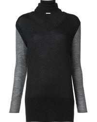 TOME - Turtle V-neck Jumper - Lyst