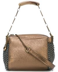 Laura B - Bauletto Shoulder Bag - Lyst