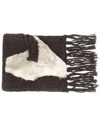 Cutuli Cult - Oversized Knit Scarf - Lyst
