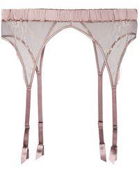 Fleur Of England - Lace Suspender Belt - Lyst