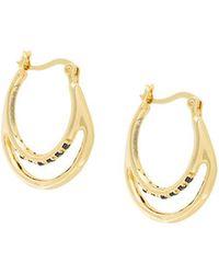 Iosselliani - Silver Heritage Earrings - Lyst