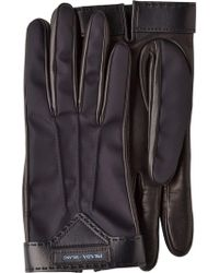 Prada - Lambskin Gloves - Lyst