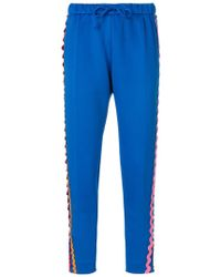 Mira Mikati - Wave Side Panel Straight Trousers - Lyst