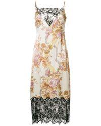 Christopher Kane - Kleid mit Spitzensaum - Lyst