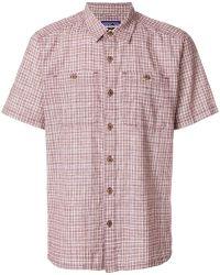 Patagonia - Plaid Straight Hem Shirt - Lyst