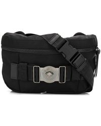 Versace - Greca Ribbon Belt Bag - Lyst