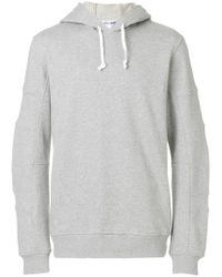 Comme des Garçons - Ribbed Detailing Hoodie - Lyst