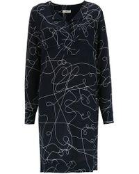 Egrey - Midi Silk Dress - Lyst
