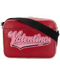 Valentino - Logo Shoulder Bag - Lyst