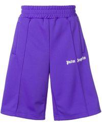 Palm Angels - Shorts sportivi oversize - Lyst