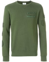 Dondup - Military Insignia Embroidered Jumper - Lyst