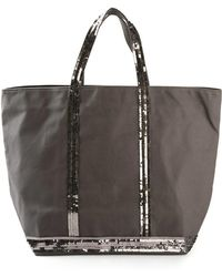 Vanessa Bruno - - Sequin Embellished Tote - Women - Cotton - One Size - Lyst