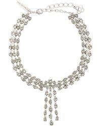 Oscar de la Renta - Tassel Necklace - Lyst