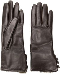 Gala - Buttoned Cuff Gloves - Lyst