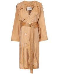 Erika Cavallini Semi Couture - Lightweight Trench Coat - Lyst