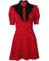 Miu Miu - Cherry Printed Dress - Lyst