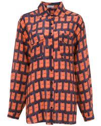 Amir Slama - Printed Silk Shirt - Lyst