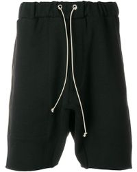 MR. COMPLETELY - Zipped Pockets Bermuda Shorts - Lyst