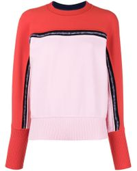 Sportmax - Two-tone Knit Jumper - Lyst