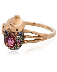 Daniela Villegas - Atum Ring With Pink Sapphire - Lyst