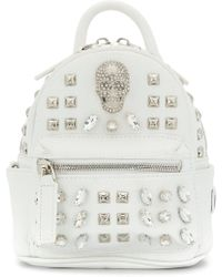 Philipp Plein | Shiny Skull Mini Backpack | Lyst