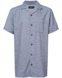 Onia - Striped Shirt - Lyst