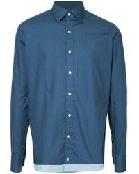Kolor - Classic Button Shirt - Lyst