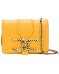 b4915bd2ffda Elisabetta Franchi - Square Shaped Crossbody Bag - Lyst
