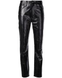 IRO - Pantalones de napa - Lyst