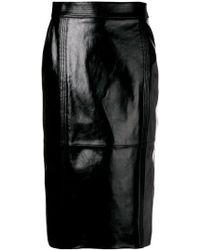 Givenchy - Midi Pencil Skirt - Lyst