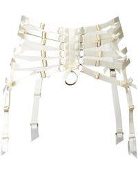 Bordelle - Webbed Suspender Belt - Lyst