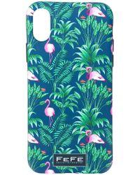 Fefe - Flamingo Iphone X Cover - Lyst